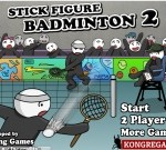 Stick Figure Badminton On Return Man Games