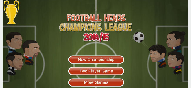 Football Heads 2014 15 Champions League Return Man Games